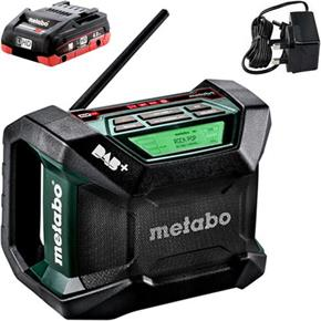 Metabo R12-18BT DAB+ Digital Site Radio with Bluetooth (1x 4Ah)