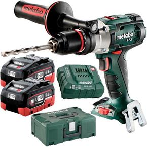 Metabo SB18LTX Impuls 18V Combi Drill (2x 5.5Ah LiHD, MetaLoc Box)
