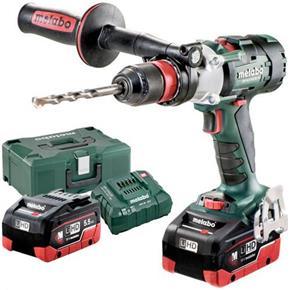 Metabo SB18LTX-3 BL Q I 18V Brushless Combi Drill (2x 5.5Ah LiHD)