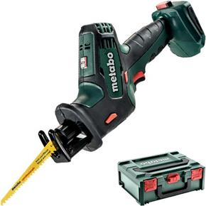 Metabo SSE 18 LTX 18V Compact Sabre Saw (Naked, MetaBox)