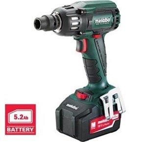 Metabo SSW 18 LTX 400 Impact Wrench (5.2Ah)