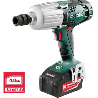 Metabo SSW 18 LTX 600 Impact Wrench (4.0Ah)