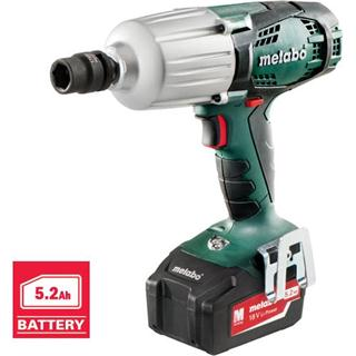 Metabo SSW 18 LTX 600 Impact Wrench (5.2Ah)