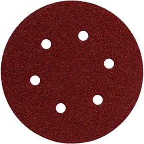 Metabo Hook & Loop Assorted 150mm Sanding Disc Set (25pcs)
