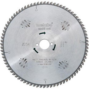 Metabo 254mm Saw Blade (80T)