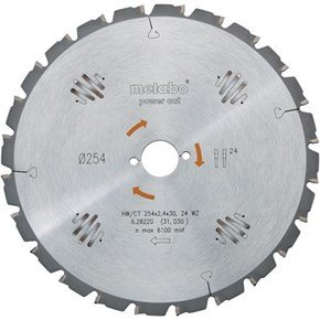 Metabo 254mm Saw Blade (24T)
