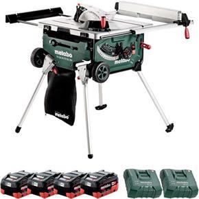 Metabo TS 36-18 LTX BL 254 18V Brushless Table Saw (4x 8Ah LiHD)