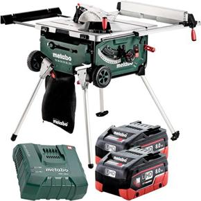 Metabo TS 36-18 LTX BL 18V Brushless 254mm Table Saw (2x 8Ah LiHD)