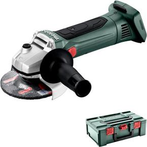 Metabo W 18 LTX 125 18V 125mm Grinder (Naked, MetaBox)