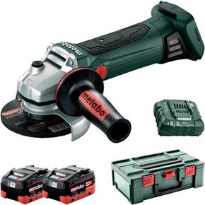 Metabo W 18 LTX 125 Quick 18V 125mm Angle Grinder (2x 8Ah LiHD)