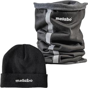 Metabo Beanie Hat & Snood Set