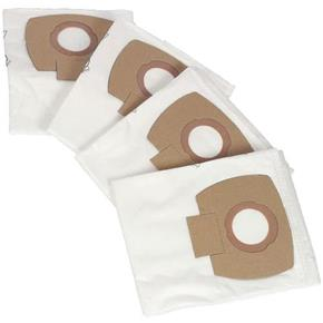 Nilfisk Alto Fleece Dust Bags for Aero Extractors/Vacs (4pk)