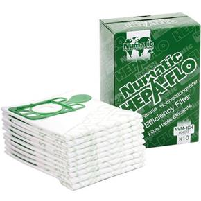 Numatic HepaFlo Filter Bags for Henry/Hetty Vacuums (10pk)