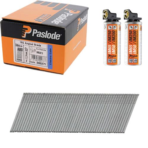 Paslode Angle Brads 38mm (Box 2000)