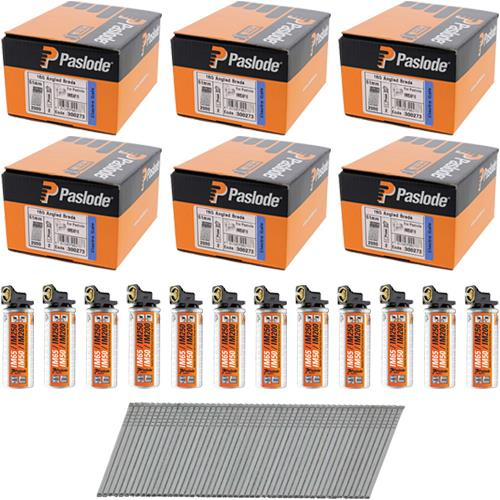 *6 PACK DEAL* Paslode 51mm Angle Brads (6x 2000pk)