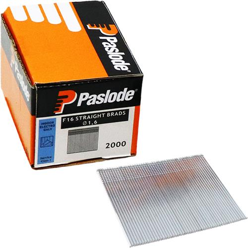 Paslode 38mm Straight Brad Nails for 16G Nailers (2000pk Without Gas)