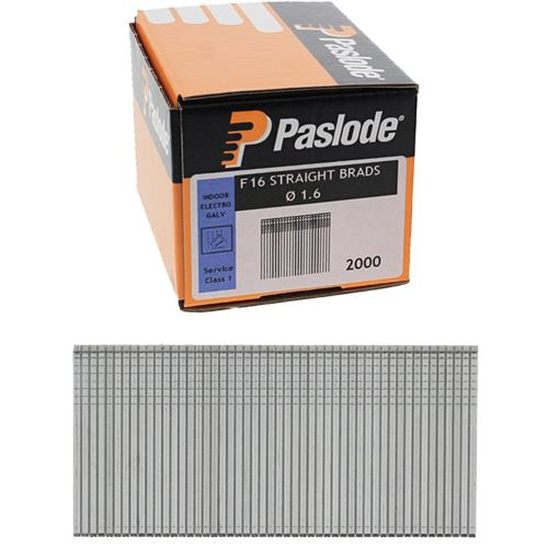 Paslode 25mm Straight Brad Nails (2000pk Without Gas)
