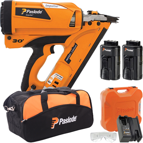 Paslode IM350+ Li-ion Framing Nailer (2x Batteries)