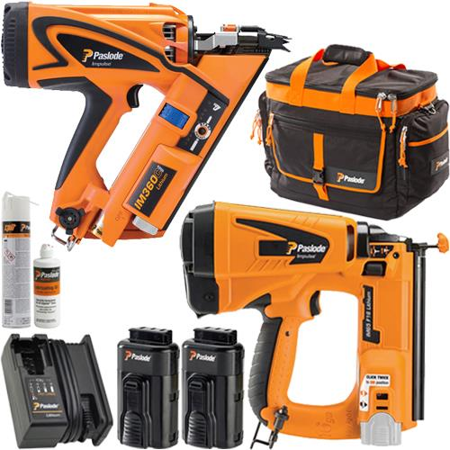 Paslode KIT DEAL: IM360Ci Nailer, IM65 Nailer, 2x 2.1Ah, Kit Bag