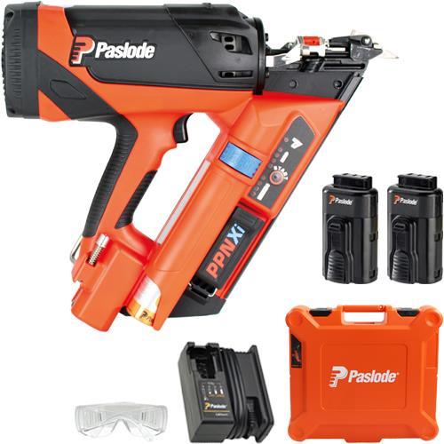 Paslode PPNXi Positive Placement Nailer (2 Batteries)