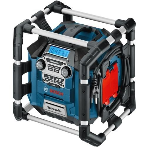 Bosch GML 20 POWERBOX Jobsite Radio 240v