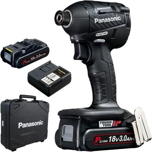Panasonic EY75A7 18V Brushless Impact Driver (2x 3Ah)