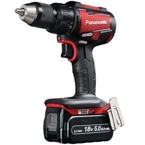 Panasonic EY79A2 Red 18V Combi Drill (2x 5Ah)
