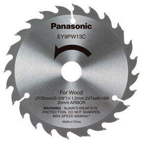 Panasonic 135mm 24T Circular Saw Blade (Wood)