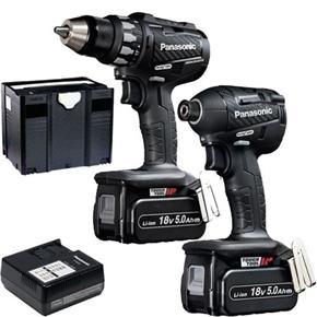 Panasonic EYC215 18V 5Ah Kit (Drill Driver + Impact Driver)