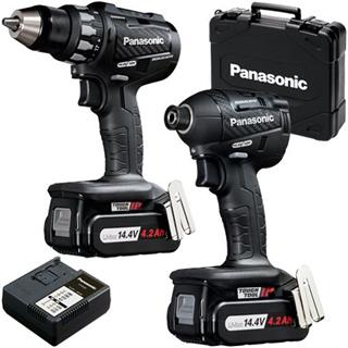 Panasonic EYC215 14.4v Drill Driver + Impact Driver (4.2Ah)