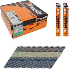 Paslode Bright 90mm Smooth Framing Nails for IM350 (2200pk)