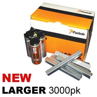 Paslode 25mm Divergent Point Staples 3000pk