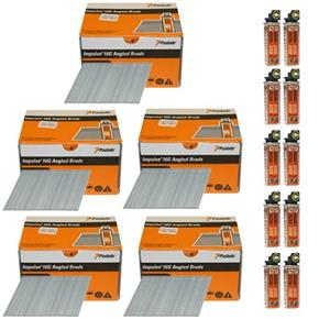 *5 PACK DEAL* Paslode 51mm Angle Brads (5x 2000pk)