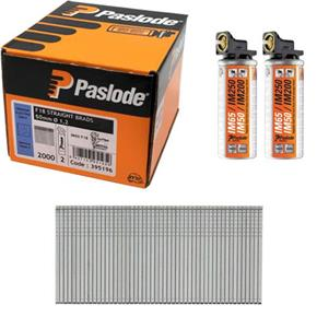 Paslode Fine Finish 18g Brads 50mm (2000pk)