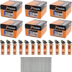 *6 PACK DEAL* Paslode 38mm Straight Brads (6x 2000pk)