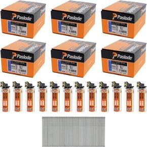 *6 PACK DEAL* Paslode 50mm Straight Brads (6x 2000pk)