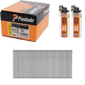 Paslode S/Steel Straight Brads 38mm (Box 2000)