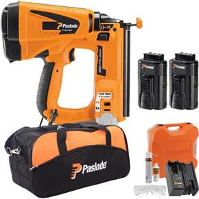 Paslode IM65 16g Lithium Finish Nailer (2x Batteries)