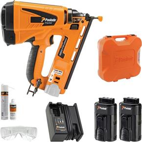 Paslode IM65A 16g Lithium Angle Finish Nailer (2x Batteries)