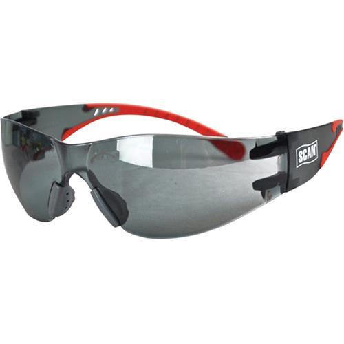 Scan Flexi Wrap-Around Safety Spectacles (Smoke)