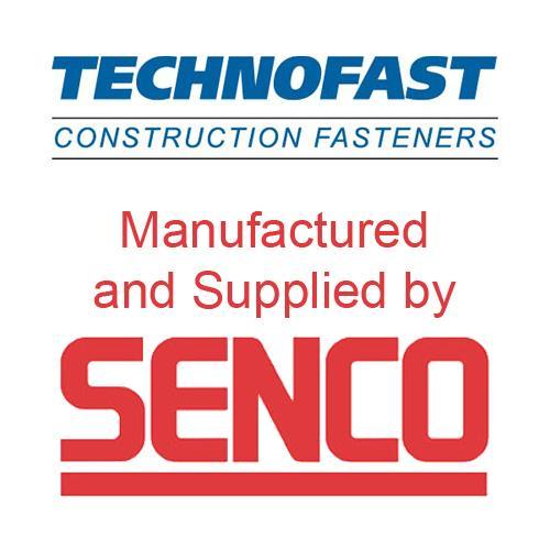 Senco Technofast 3.5x 45mm DW-LSteel Collated Screws (1000pk)
