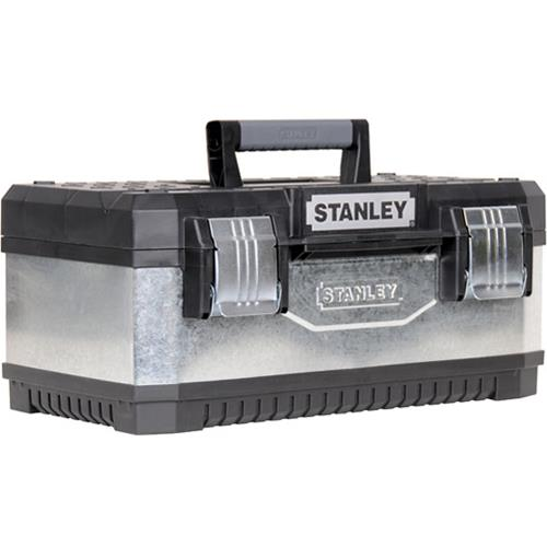 Stanley Galvanised Metal Toolbox 195619