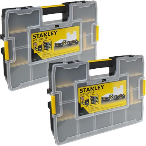 Stanley Sortmaster Organiser Twinpack