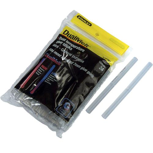 Stanley Dual Temp Mini Glue Sticks 24pk 1GS10DT