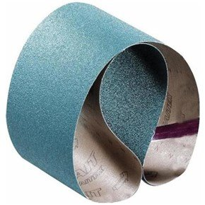 Sait Zirconia Burnishing Belts 90x100mm 80G (10pk)