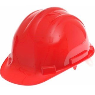 Scan Hard Hat - Red