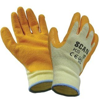 Scan Knit Shell Latex Palm Gloves
