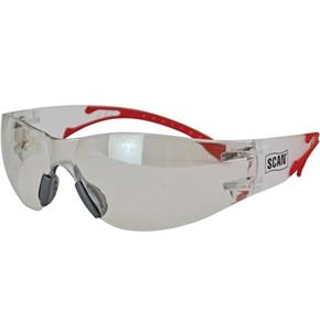 Scan Flexi Wrap-Around Safety Spectacles (Clear)