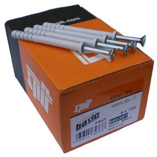 Spit Fast 8x120mm Hammerfix (50pc)