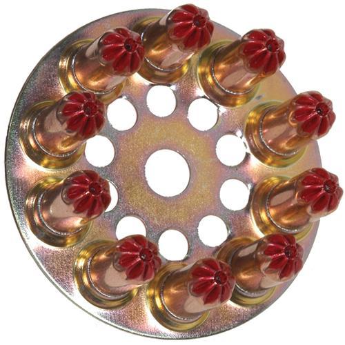 Spit Red Disc Cartridges (100pcs)